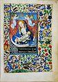 Stundenbuch der Maria von Burgund Wien cod. 1857 Maria auf der Mondsichel.jpg
