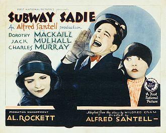 Subway Sadie - Image: Subway Sadie lobby card 1926
