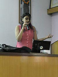 Sucheta ghoshal speaking.jpg