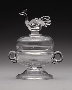 John Frederick Amelung - Sugar bowl from a child's tea set, Los Angeles County Museum of Art