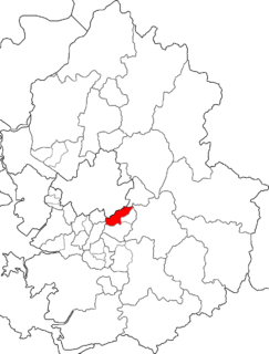Sujeong-gu Non-autonomous District in Sudogwon, South Korea