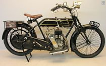"Sunbeam 3½ HP, ""The Gentleman's Motorcycle"" en ""The Rolls Royce of Singles"", uit 1917"