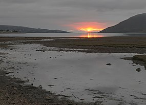 Sunset at Dundonnell - panoramio.jpg