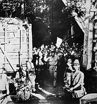 Surrender of American troops at Corregidor