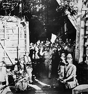Paul Bunker - Surrender of U.S. forces at Corregidor.