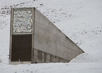 Agriculture in Svalbard - The Svalbard Global Seed Vault, 2012