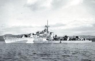 HNoMS Svenner (G03) - Image: Svenner at Scapa Flow
