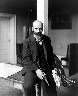 Richard Bergh - Richard Berg, photograph from 1904