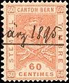 Switzerland Bern 1897 revenue 60c - 55 X-93 4.jpg