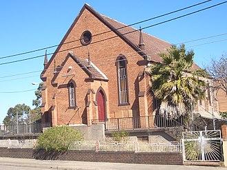 Sydenham, New South Wales - Image: Sydenham St Marys