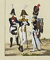 Tête de colonne Grenadiers à pied de la Garde C.Baour BNF.jpg