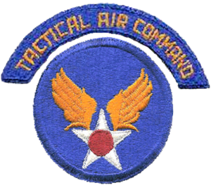 500th Air Defense Group - Image: TAC 1946 shoulder patch