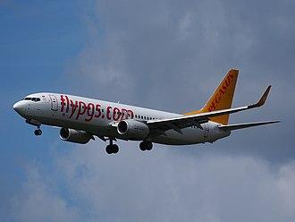 Pegasus Airlines - Pegasus Airlines Boeing 737-800