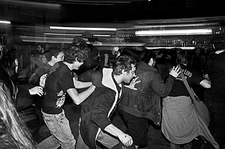 Moshing Style of dance