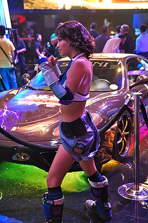 Asuka Kazama - Vivian Nguyen portraying Asuka Kazama at E3 2012