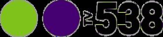TV 538 - Image: TV 538 logo