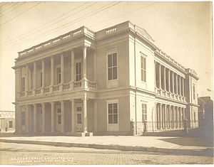 United States Customs House and Court House (Galveston, Texas) - The Court House, in 1917