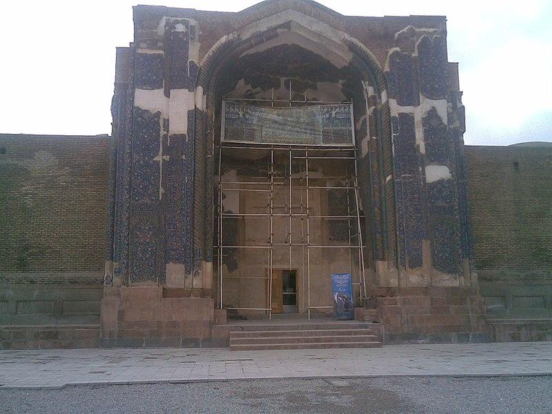 Datei:Tabriz-BlueMosque-08.jpg