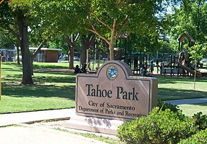 Tahoe Park, Sacramento, California - Tahoe Park