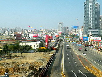 Xitun District - Image: Taichung Harbor Road 20091221