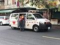 Taipei City Fire Department ambulance Minquan-93 on scene.jpg