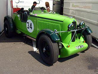 Talbot 105 - Talbot 105 Works Brooklands at Silverstone