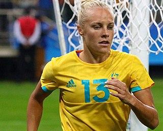 Tameka Yallop An Australian female professional association football player