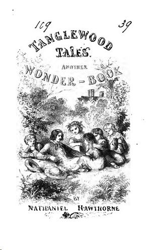 Tanglewood Tales - Cover page of first edition (1853)
