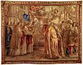 Tapestry by unknown weaver - Urban VIII Consecrates St Peter's Basilica - WGA24187.jpg