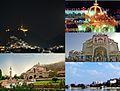 Taragarh fort night view, Dargarh sharif , Sai baba temple, Anasagar lake , Nareli.jpg