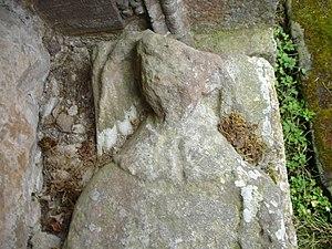 Abbot of Fearn - Head-effigy of abbot Fionnlagh II.