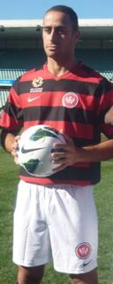 Tarek Elrich Australian international football player
