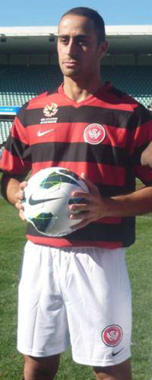Tarek Elrich - Elrich with Western Sydney Wanderers in 2012
