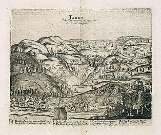 Tarki - Tarki-capital-of-Kumyk-Shamkhalate-Adam-Olearius