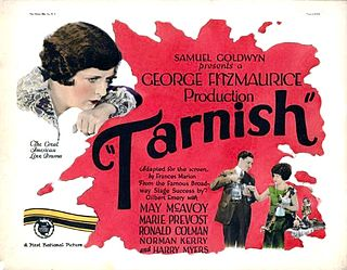 <i>Tarnish</i> (film) 1924 silent film directed by George Fitzmaurice