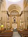 Tarragona - Església de Sant Francesc i Santa Clara, interior 01.jpg