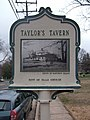 Taylor's Tavern (Defenses of Washington marker series) (City of Falls Church marker series) (3408772446).jpg