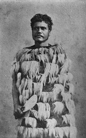 Iwikau Te Heuheu Tukino III - Image: Te Heuheu III, photograph by James D. Richardson