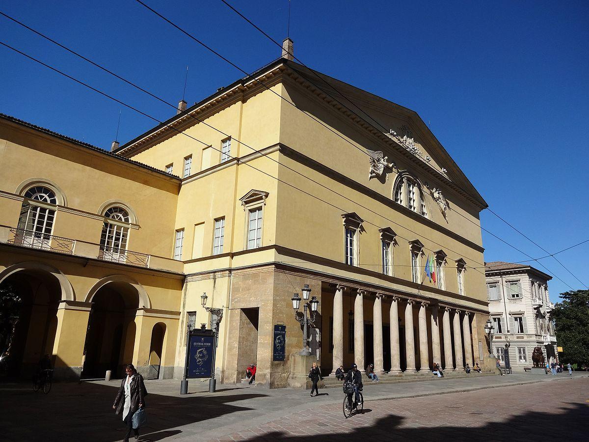 Teatro regio parma wikipedia - Immagini di giardini di villette ...
