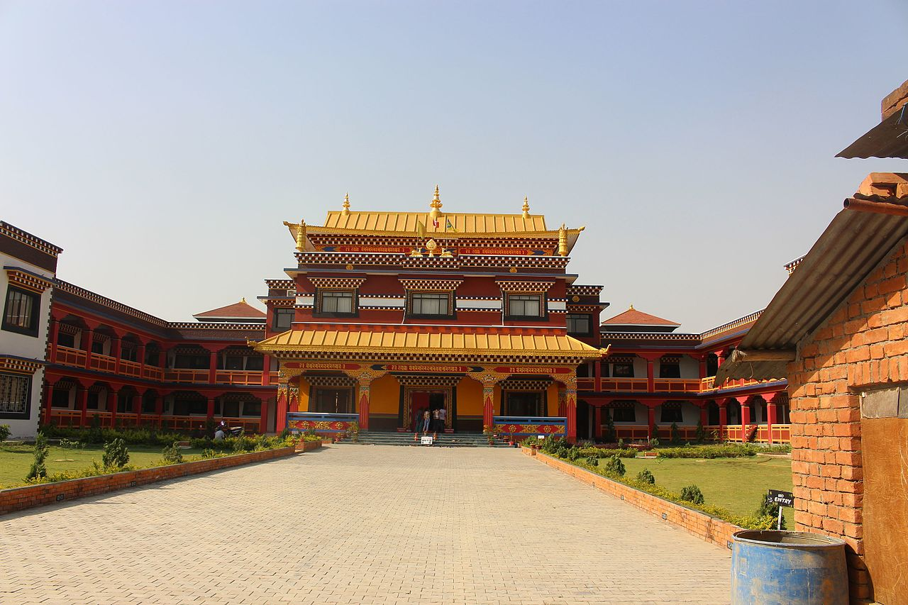 Thangru Monastery in Lumbini