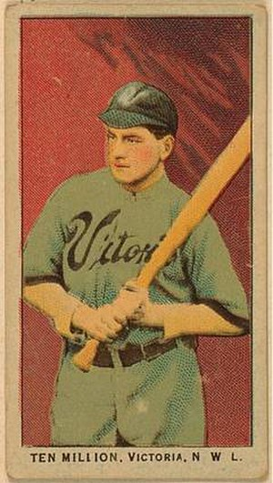 Ten Million - Ten Million on a 1911 baseball card