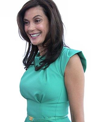 Actress Teri Hatcher at Desperate Housewives P...
