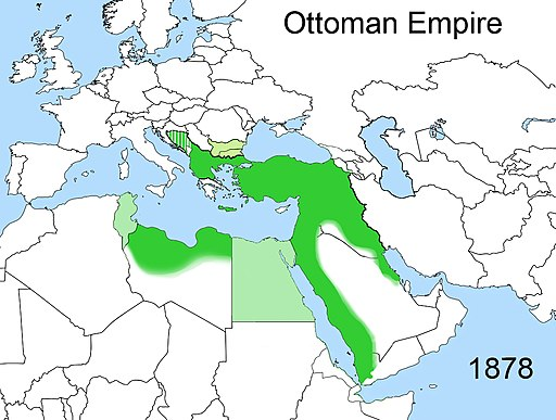 Territorial changes of the Ottoman Empire 1878
