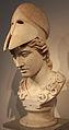 Testa di atena di tipo velletri, opera romana da orig. greco del 400 ac ca. 01.JPG