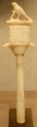 Sistrum inscribed with the name of Teti.