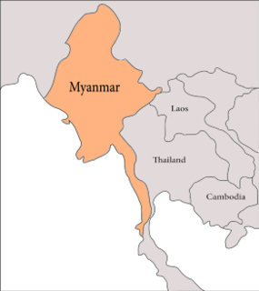 Geology of Myanmar