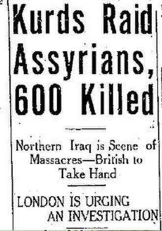 British Assyrians - Image: The Lethbridge Herald August 181933