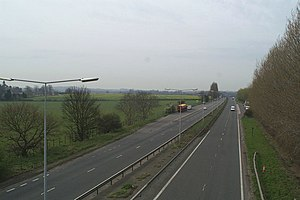 A299 road - The A299, towards the junction with the A2/M2