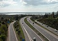 The A3(M) M27 interchange, Farlington.jpg
