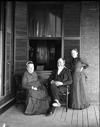Spencer Fullerton Baird - Baird with his wife and daughter in Wood's Hole, Massachusetts. It was at Wood's Hole that Baird would gain interest in ichthyology.
